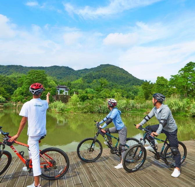 青岛旅行社-Club Med Joyview 地中海度假村-湖州安吉度假村 吃住玩乐 一价全含 茶园竹林让身心回归自然